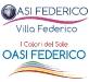 Associazione Oasi Federico - Loghi per struttura dedicata a attività ludico-ricreative e riabilitative per bambini